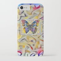 kandinsky iPhone & iPod Cases featuring Kandinsky Butterfly by Detailicious