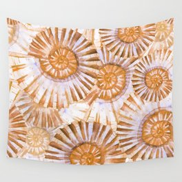 Sea Life Pattern 08 Wall Tapestry