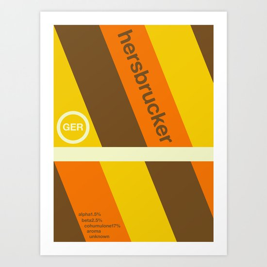 hersbrucker single hop Art Print