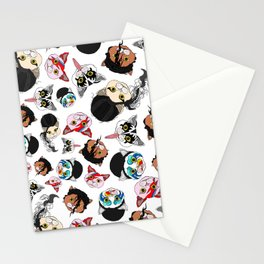 Pop Cats Stationery Cards