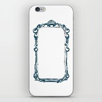 frame iPhone & iPod Skins featuring frame by k. Reinstein