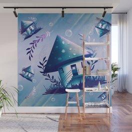 Magic Mush Room - Pattern Wall Mural