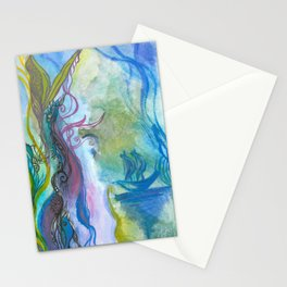 Magical seaweed Stationery Cards