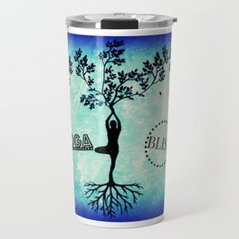 Yoga Bliss Travel Mug