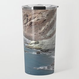sea cliffs Travel Mug