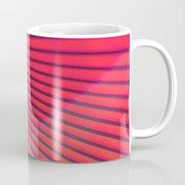 Coral Japanese umbrella Coffee Mug
