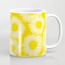 Yellow Sunflowers / Floral Pattern Coffee Mug