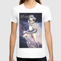 sailormoon T-shirts featuring Sailor Saturn by tsubame0613
