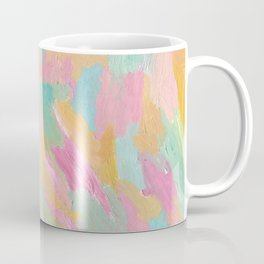 Sea Foam Beach Abstract Coffee Mug