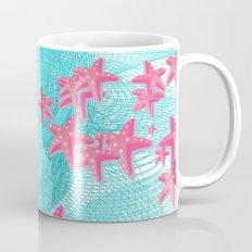 Pink starfish Mug