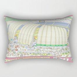 Dunas Arena, Natal, Rio Grande do Norte, Brazil Rectangular Pillow