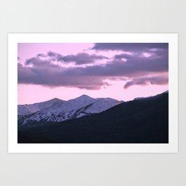 Pink Colorado Art Print