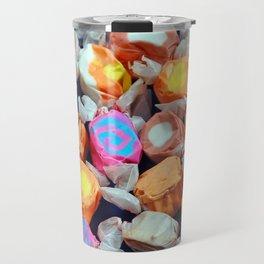 Colorful taffy candy Travel Mug
