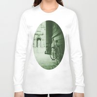 jewish Long Sleeve T-shirts featuring Break Time by Brown Eyed Lady