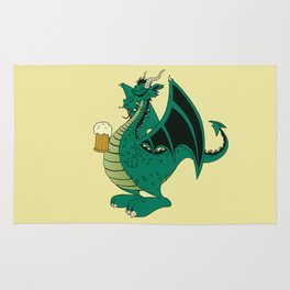 Green dragon Rug
