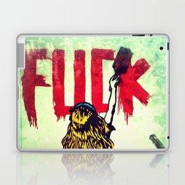 Writing Fuck Laptop & iPad Skin