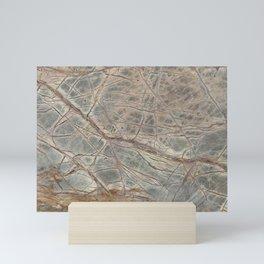 Brown Marble I Mini Art Print
