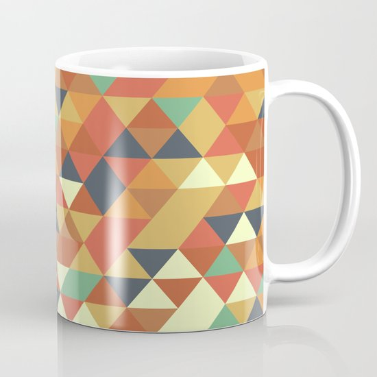 Triangle Pattern II Mug