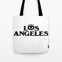 Los Angeles Third Eye Tote Bag