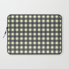 CHARCOAL CHECK Laptop Sleeve