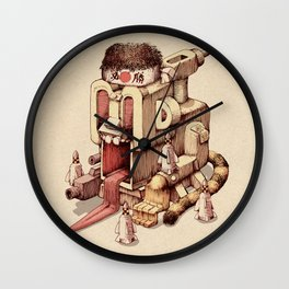 Kamikazee Wall Clock
