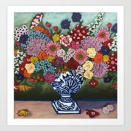 Amsterdam Flowers Art Print