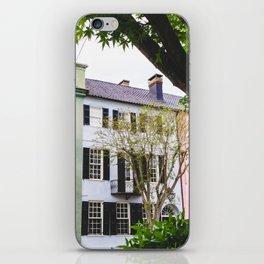 Rainbow Row in Charleston, SC iPhone Skin