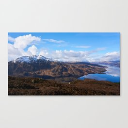 Winter Hills of Scotland Canvas Print