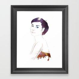 Java Hepburn Framed Art Print