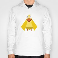 duck Hoodies featuring Duck by Fairytale ink