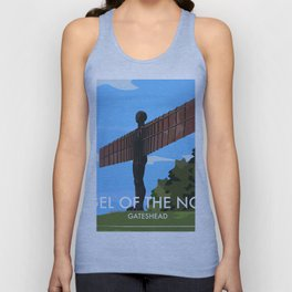 Angel of the North Unisex Tank Top