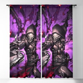 reaper over Blackout Curtain