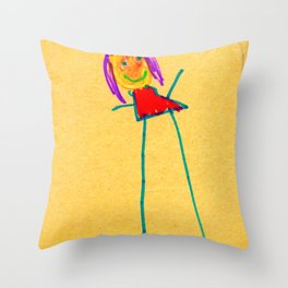 What's up Throw Pillow