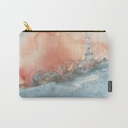 Storm at North Manitou Island Shoal Carry-All Pouch