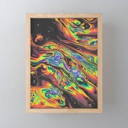 SEGA SUNSET Framed Mini Art Print