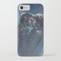 destiel iPhone & iPod Cases featuring Winter Destiel by A Midget Banana