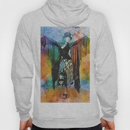 Stevie Nicks Watercolour Print and poster Hoody