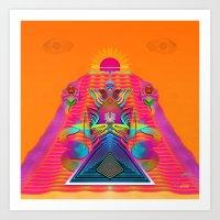 Transmuting Totem Art Print