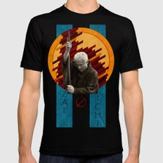 Zatoichi, the blind swordsman Mens Fitted Tee X-LARGE Black