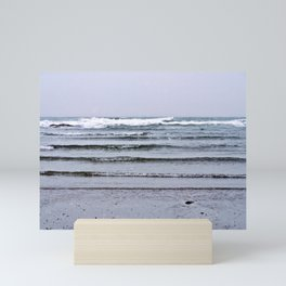 Winter Rippling Waves Mini Art Print