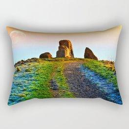 Evening Light At Five Stones Rectangular Pillow