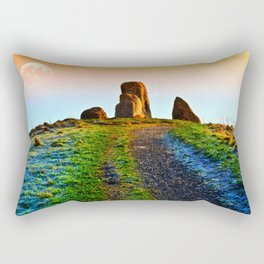 Evening Light At Five Stones Rectangular Pillow