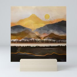 Pure Wilderness at Dusk Mini Art Print