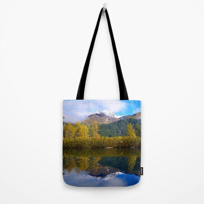 Fall Reflection - Alaska Tote Bag