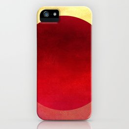 Circle Composition XIII iPhone Case