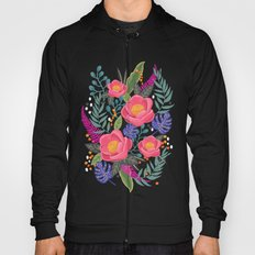 Romantic Blossom, flower print, floral print Hoody