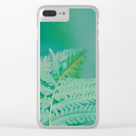 #182 Clear iPhone Case