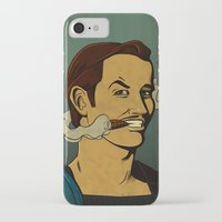 watchmen iPhone & iPod Cases featuring It's Always Sunny in Watchmen - Mac by Jessica On Paper