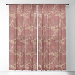 Ying Yang Sheer Curtain