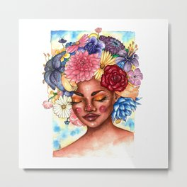 Blooming Spring Metal Print